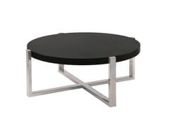 - Round coffee table SUDOESTE | Round coffee table - Branco sobre Branco