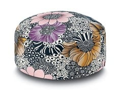 - Fabric pouf with removable lining SULAWESI | Pouf - MissoniHome