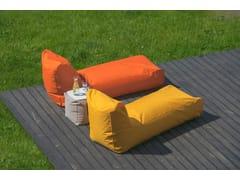 - Imitation leather garden daybed SUNBED OUTSIDE - Pusku pusku