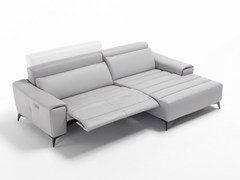 - Convertible leather sofa SUZETTE XL - Egoitaliano
