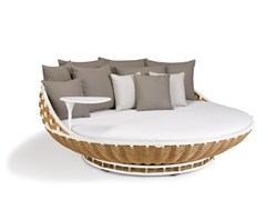- Round garden sofa SWINGREST | Round sofa - Dedon