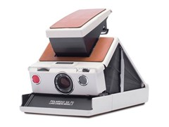 Fotocamera istantaneaSX-70™ CAMERA WHITE-BROWN - POLAROID ORIGINALS®