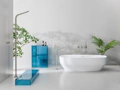 Colonna doccia da terra in acciaio inoxSX | Colonna doccia - CRISTINA RUBINETTERIE