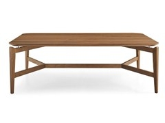- Rectangular wooden coffee table SYMBOL | Rectangular coffee table - Calligaris