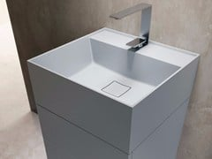 - Square Tekhnos washbasin SYN | Square washbasin - LASA IDEA