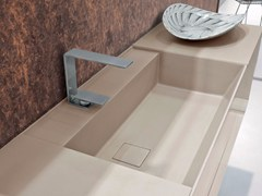 - Undermount rectangular Tekhnos washbasin SYN | Undermount washbasin - LASA IDEA