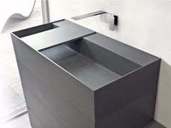 - Rectangular Tekhnos washbasin SYN | Tekhnos washbasin - LASA IDEA