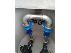 Pompa per drenaggioStazioni di sollevamento prefabbricate - POZZOLI DEPURAZIONE