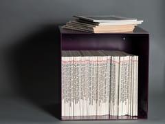 Libreria / comodino in acciaioComodino in acciaio - DIADORN