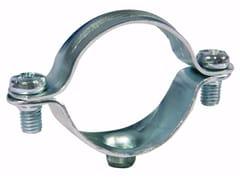 Collare fissatubo leggero in acciaio zincatoCollare fissatubo leggero - UNIFIX SWG
