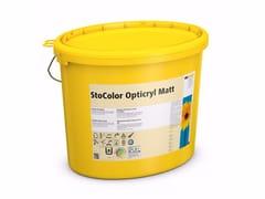 Pittura ultra opaca per interni a base di acrilatoStoColor Opticryl Matt - STO ITALIA