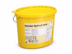Pittura setacea per interni a base di acrilatoStoColor Opticryl Satin - STO ITALIA