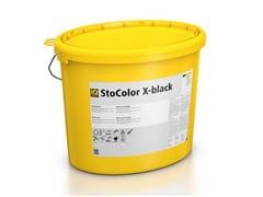 Pittura termoriflettente acrilica per sistema a cappottoStoColor X-black - STO ITALIA