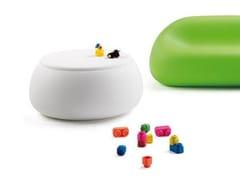 Tavolino contenitore in polietileneT BALL - PLUST COLLECTION BY EURO3PLAST