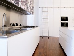 - Kitchen with island T45 | Lacquered kitchen - TM Italia Cucine