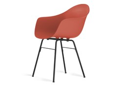 - Contemporary style steel guest chair TA Er Black | Poltroncina - KUBIKOFF