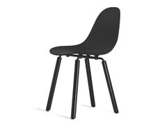 - Contemporary style wooden chair TA Yi Black | Sedia - KUBIKOFF