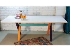 - Rectangular ash table TABLAS WOOD - IFT