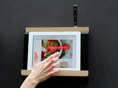 Portautensili da cucina in acciaioTABLIO - MÜLLER MÖBELFABRIKATION