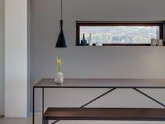 Finestra con doppio vetro in acciaio Corten™ TABS® | Finestra in acciaio Corten™ -