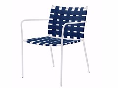 - Stackable easy chair with armrests TAGLIATELLE ARMCHAIR - 717 - Alias
