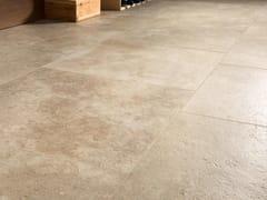 Pavimento/rivestimento in gres porcellanato effetto pietraTALE CLASSICO CONTRO - CERAMICHE CAESAR