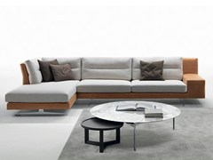 - Fabric sofa with chaise longue TALETE | Sofa with chaise longue - Marac