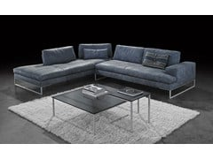 - Corner modular leather sofa TALINE | Corner sofa - ITALY DREAM DESIGN - Kallisté