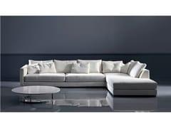 - Fabric sofa with chaise longue TANGO | Sofa with chaise longue - Marac