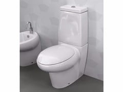 - Ceramic toilet with external cistern TAO | Close coupled toilet - Hidra Ceramica