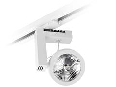 - LED Ceiling aluminium Track-Light TARGET QR TRACK - LED BCN Lighting Solutions