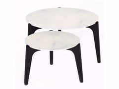 - Low round coffee table TEA TIME | Round coffee table - ROYAL BOTANIA