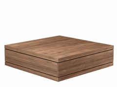 - Rectangular teak coffee table TEAK BURGER | Coffee table - Ethnicraft