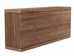 - Teak sideboard with doors TEAK BURGER | Sideboard - Ethnicraft