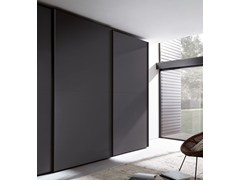 - Lacquered wardrobe with sliding doors TECNO MATT | Wardrobe with sliding doors - MisuraEmme