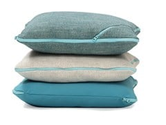 - Square fabric sofa cushion TECNO | Square cushion - SANCAL