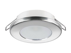 - LED recessed stainless steel spotlight TED C 2W - IP40 - Quicklighting