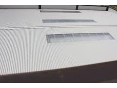 Pannello metallico coibentato per coperturaTEK 28 PIANO - ALUBEL