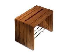 Sgabello per bagno in legnoTEKA | Sgabello per bagno - VALLVÉ - SHOWROOM & BRAND STORE