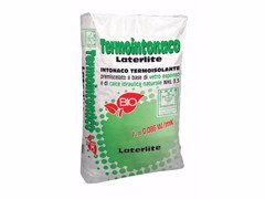 Termointonaco a base di calce idraulicaTERMOINTONACO LATERLITE | Intonaco a base di calce idraulica e idrata - LATERLITE