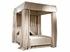 - Fabric canopy bed TERRAD'OMBRA | Canopy bed - SOFTHOUSE