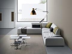 - Corner sectional upholstered fabric sofa THEA | Corner sofa - MDF Italia