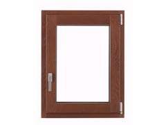 - Aluminium and wood top-hung window THERMIC PLUS - FOSSATI PVC