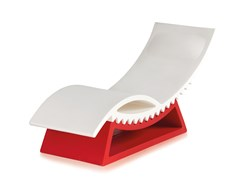 Chaise longue in polietilene TIC TAC - SLIDE