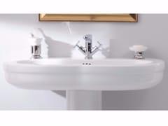 - Classic style single ceramic washbasin TIME 95 CM | Washbasin - GSG Ceramic Design