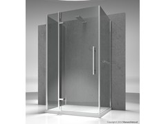- Custom tempered glass shower cabin TIQUADRO QF+QA+QG - VISMARAVETRO