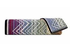 Asciugamano in spugna di cotone velourTOLOMEO | Asciugamano - MISSONIHOME