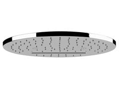 - Ceiling mounted steel rain shower MINIMALI TONDO 40547 - Gessi