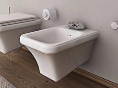 - Wall-hung ceramic bidet TOSCA | Wall-hung bidet - Hidra Ceramica