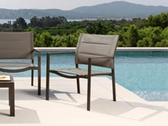 - Aluminium garden armchair TOUCH | Easy chair - Talenti